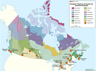Biosphere Reserves in Canada