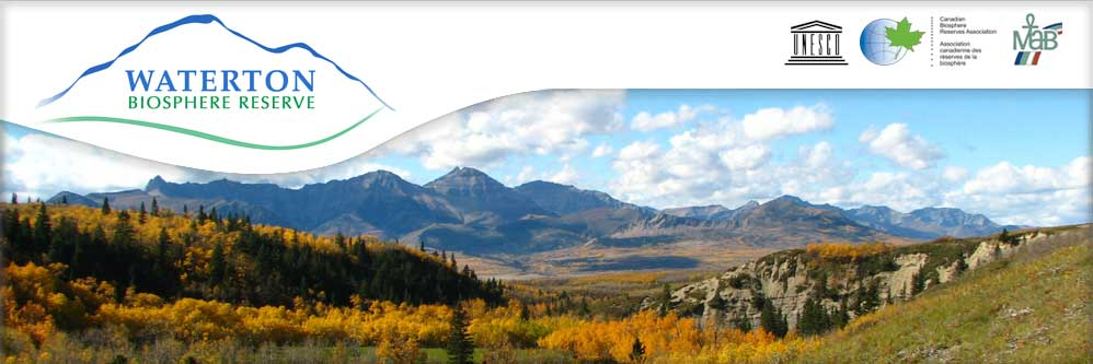 Waterton Biosphere Fall Scenic by Kim Pearson