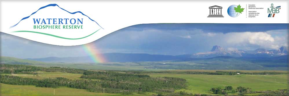 Rainbow over the Waterton Biosphere