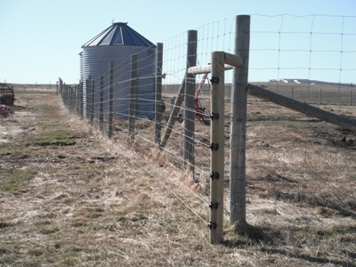 Grain Bin and Feed Storage Electric Fence