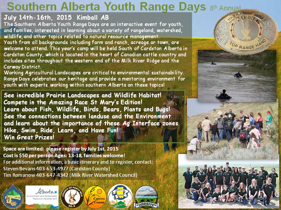 Youth Range Days 2015