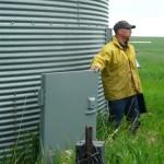 Bear Resistant Grain Bin Door